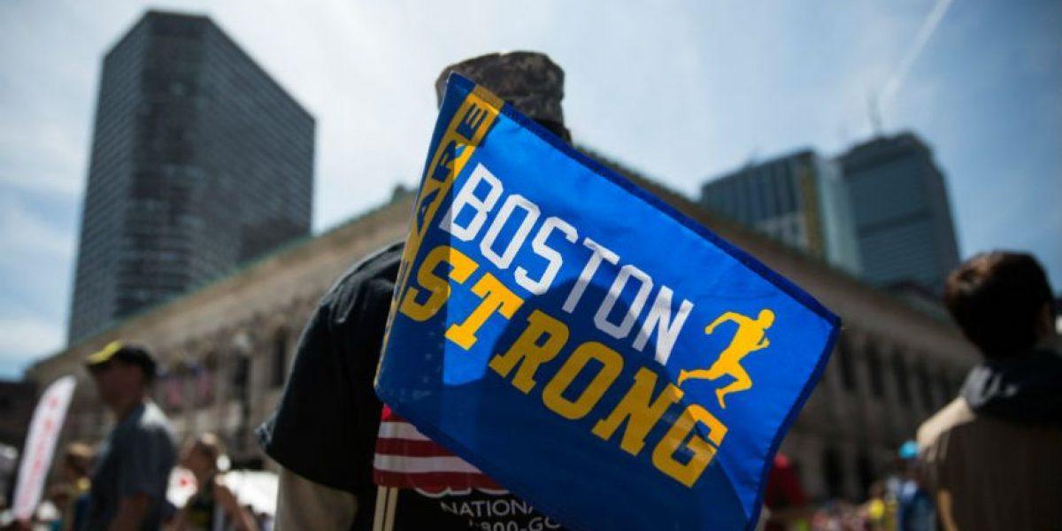 Las imágenes más emotivas del Maratón de Boston