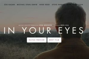 """In Your Eyes"" solamente está disponible en Vimeo. Foto: Bellwether Pictures. Imagen Por:"