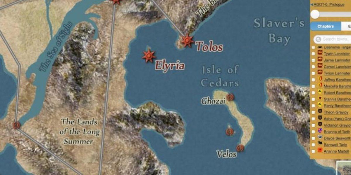 Naveguen en el mapa de