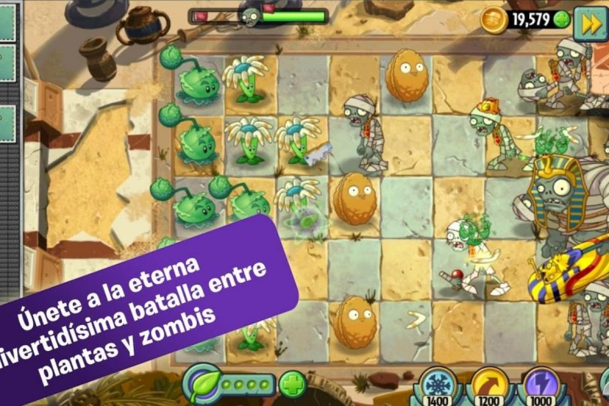 Plants vs. Zombies 2 Foto:EA Mobile. Imagen Por:
