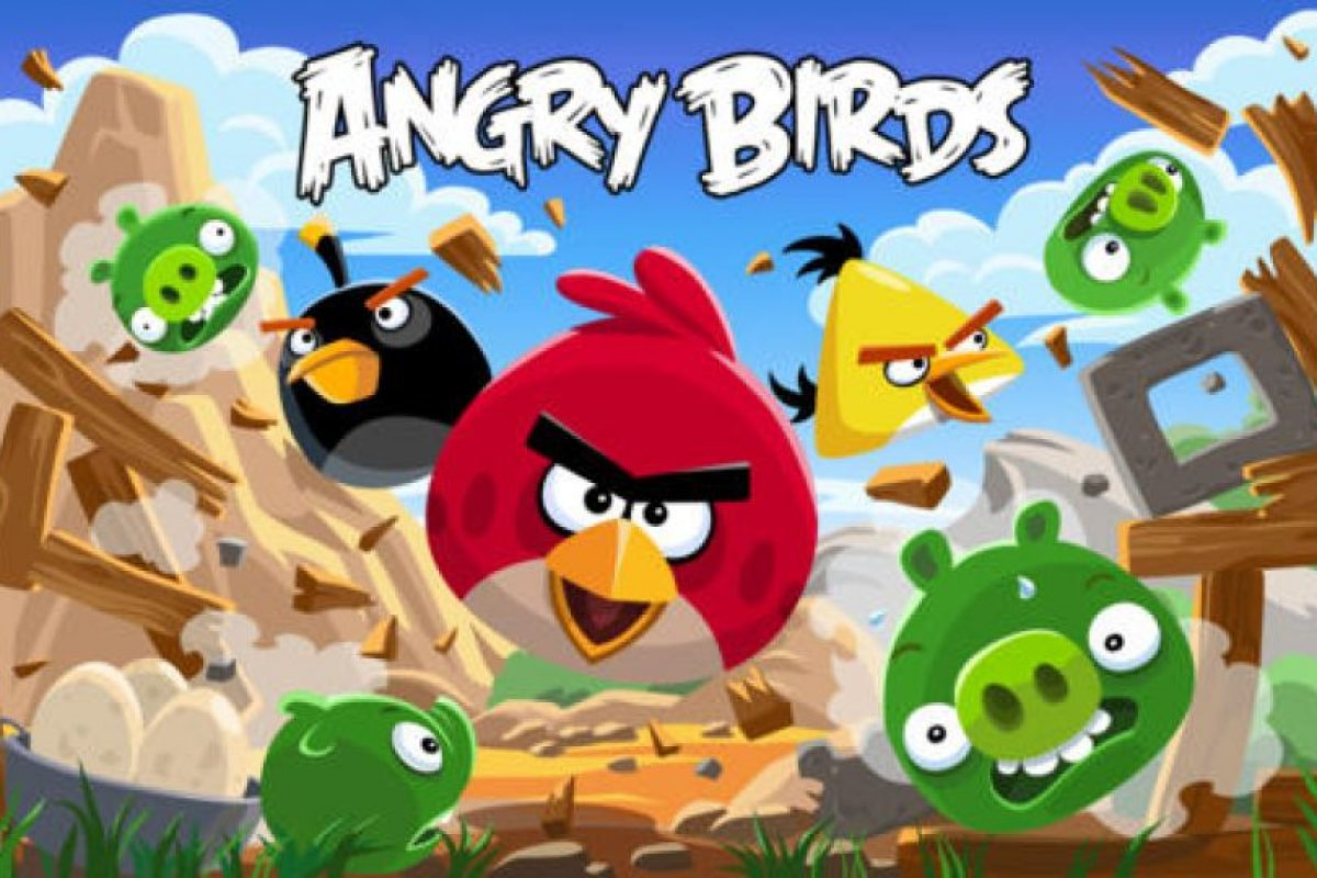 Angry Birds Foto:Rovio Entertainment Ltd. Imagen Por: