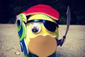 """""""¡Pascua! No se juega con el pirata de Pascua"""" escribió la cantante Foto:Instagram. Imagen Por:"""