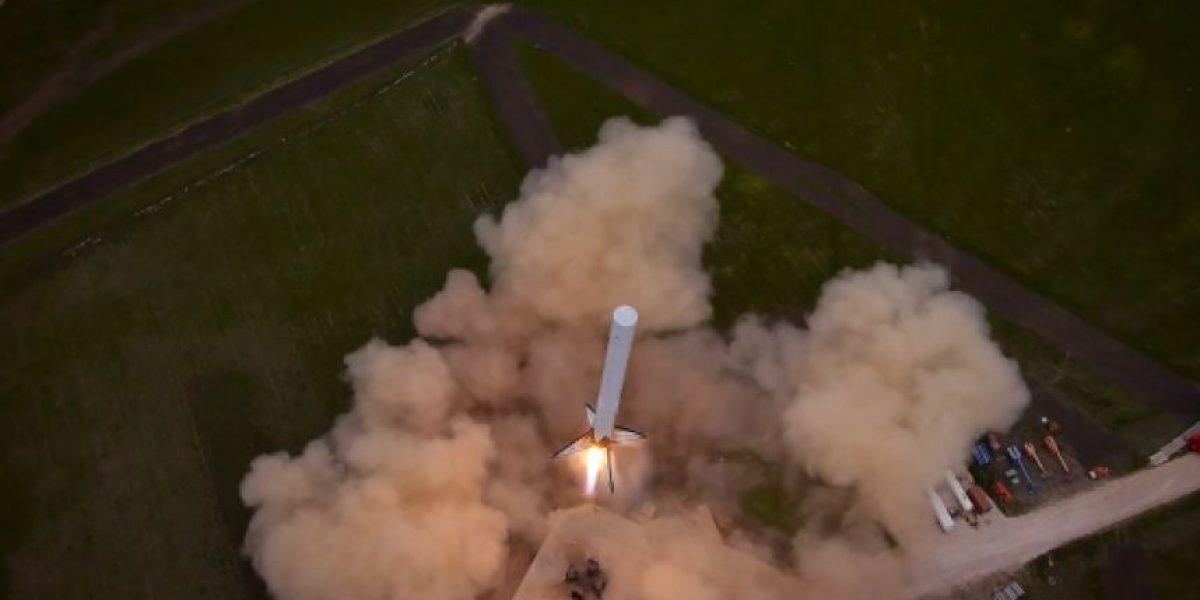 ¡Sorprendente! Captan despegue de cohete desde un drone