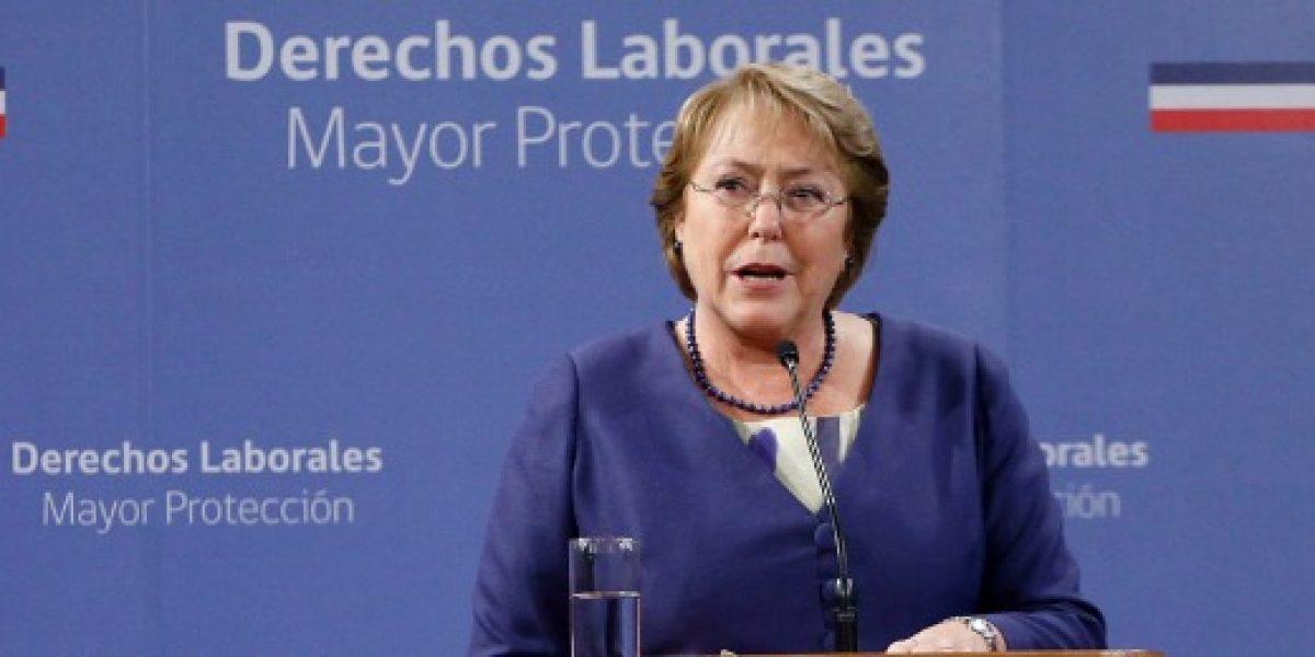 Bachelet envía indicación a proyecto de Multi RUT que se discute en el Congreso