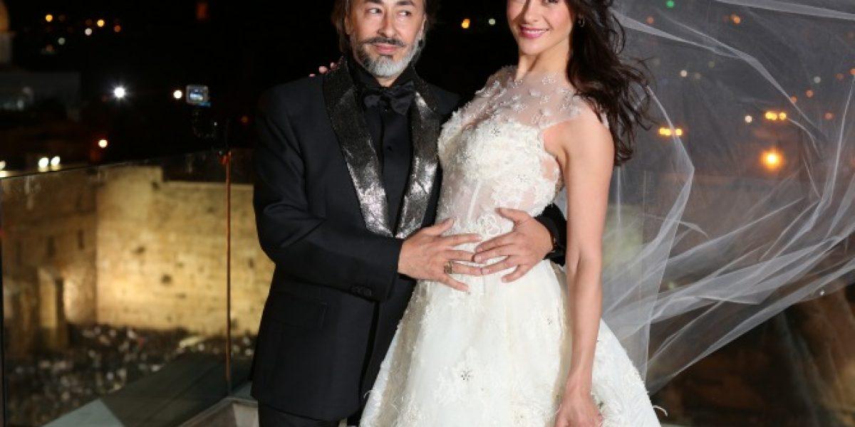 Así fue el secreto matrimonio de Tonka Tomicic y Parived