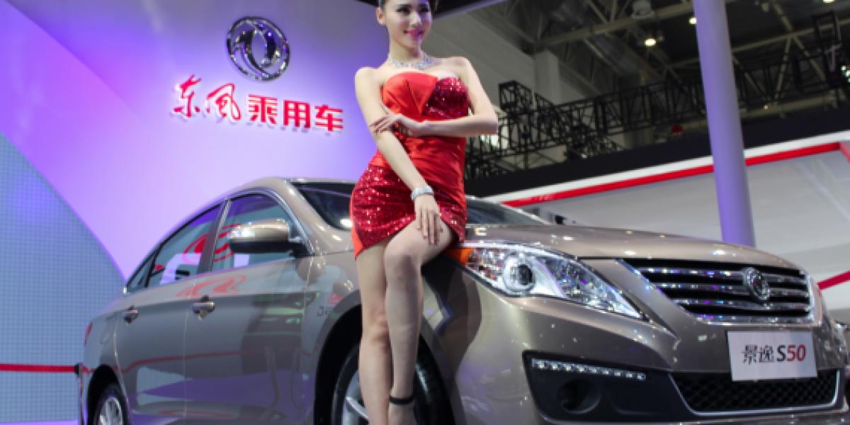 Las mujeres más lindas del Salón de Beijing