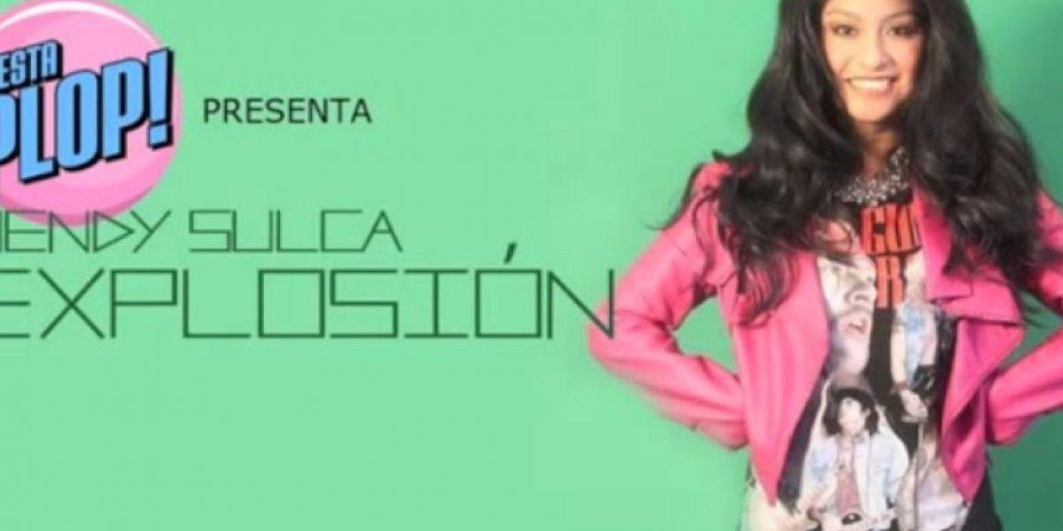 ¡Explosión!: Wendy Sulca canta un cover de Miley Cyrus