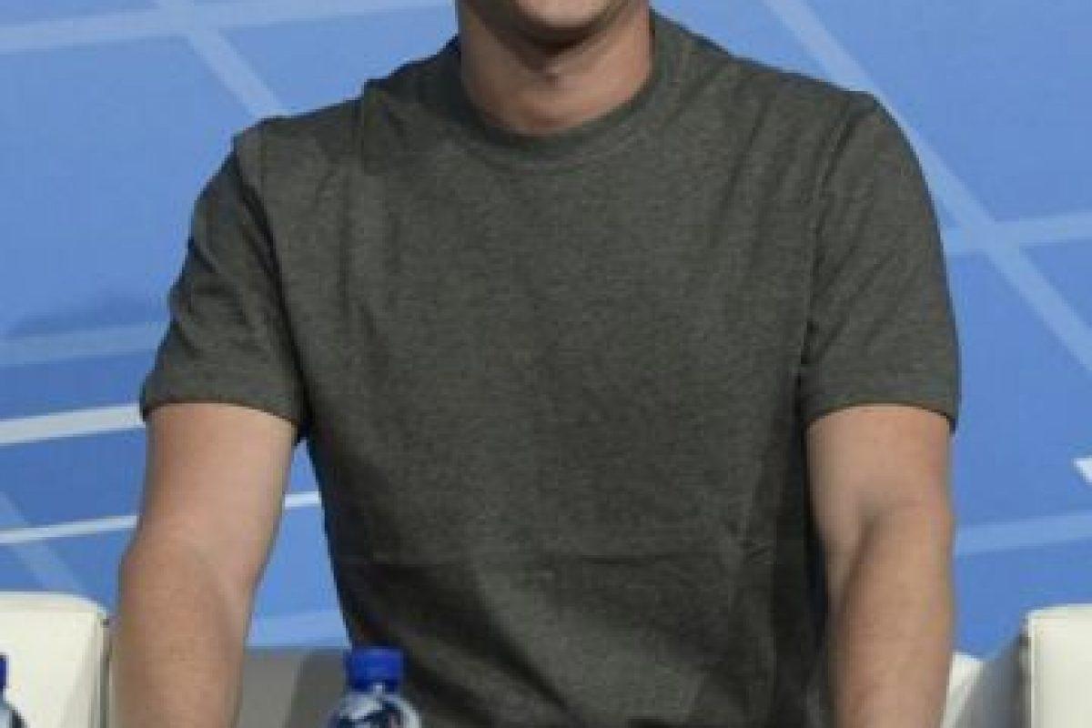 Mark Zuckerberg, CEO de Facebook. Foto:AFP. Imagen Por: