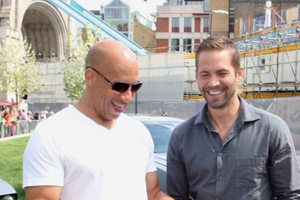 """""""Siempre hubo momentos para reír como niños"""" Foto:Facebook Vin Diesel. Imagen Por:"""