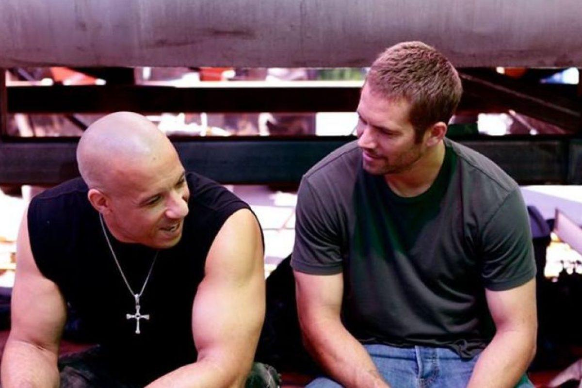 """""""Sé que estás conmigo"""" Foto:Facebook Vin Diesel. Imagen Por:"""