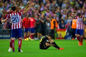En cuartos apareció el Barcelona. El 1-1 en la ida, en el Camp Nou, y el 1-0 a favor del Atlético en el Calderón (foto) dejó a los colchoneros instalados en semifinales. Foto:Getty Images. Imagen Por: