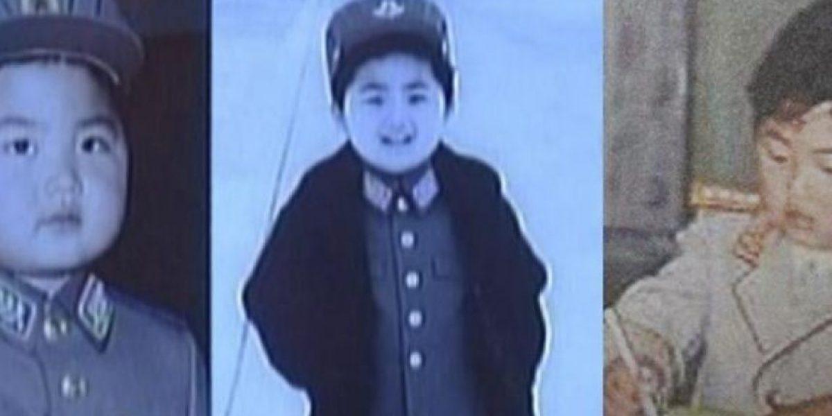Liberan imágenes de Kim Jong-un durante su infancia