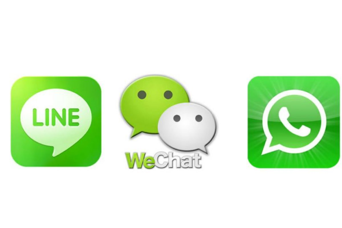 LINE vence a WeChat y WhatsApp juntos. Foto:Twitter. Imagen Por: