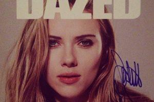 Quién no quisiera recordar que una vez Scarlett Johansson les firmó su foto. Foto:Instagram. Imagen Por: