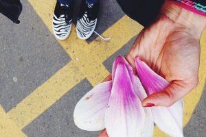 9.- El acto de caminar nos ofrece cansancio y tranquilidad. Cuando nos encontramos caminando realmente somos frágiles. Los sentimientos son más intensos. Foto:Instagram. Imagen Por: