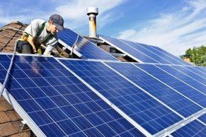 Instalación de páneles solares Foto:earthday.org. Imagen Por: