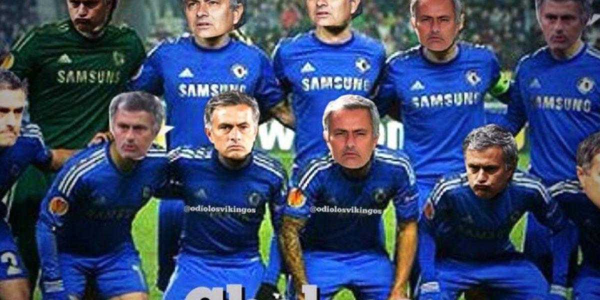 Los memes de la defensiva estrategia de Mourinho ante Atlético de Madrid