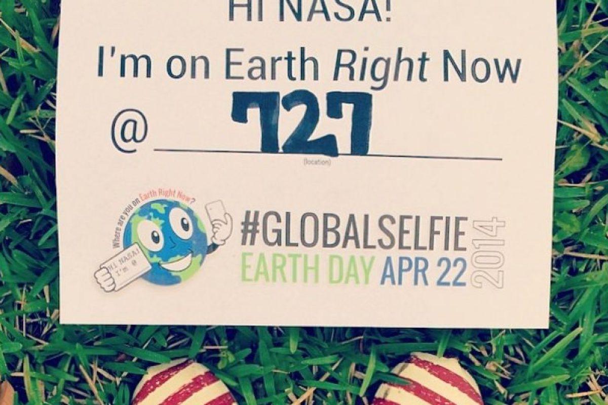 Foto:Redes Sociales #GlobalSelfie. Imagen Por: