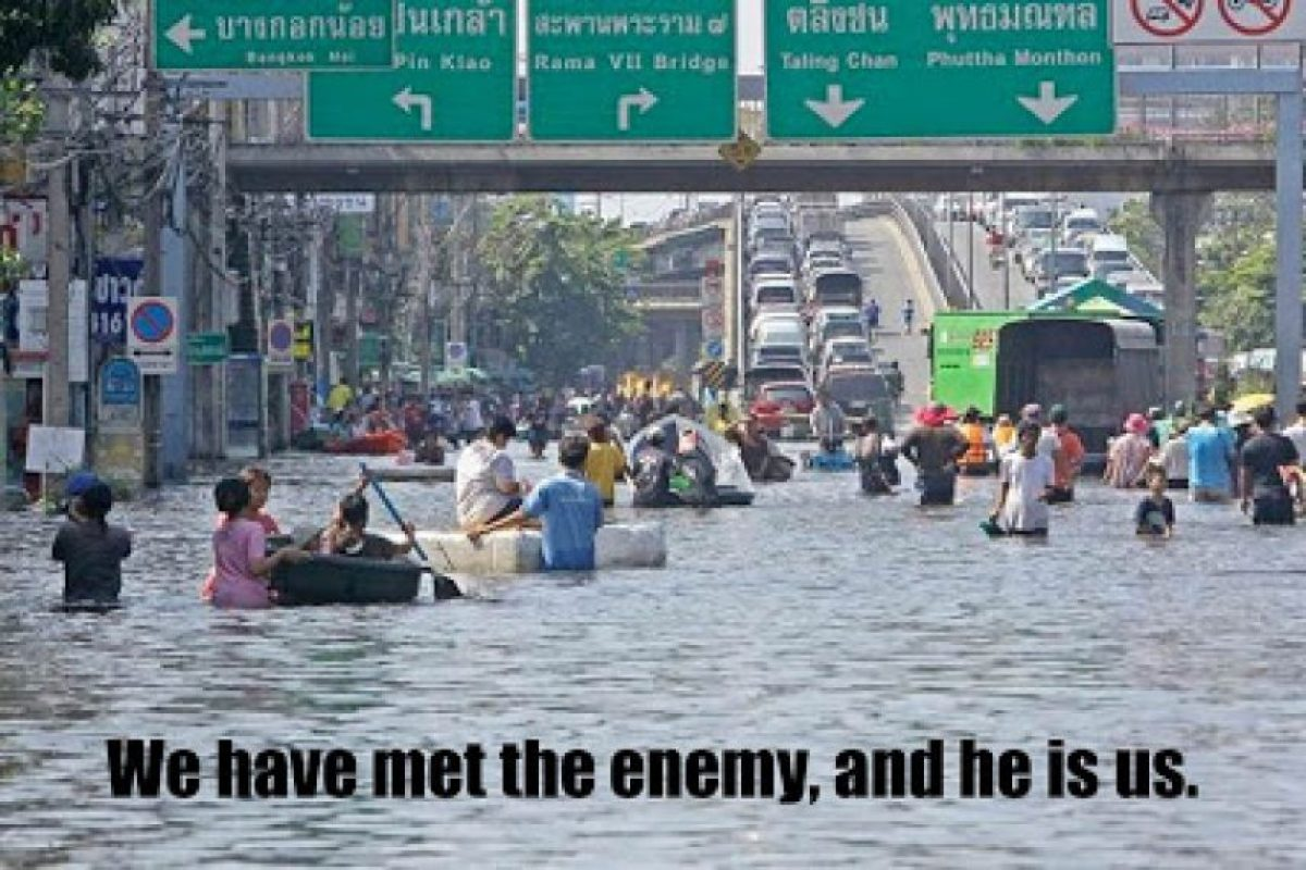 Hemos conocido al enemigo: somos nosotros. Foto:Tumblr. Imagen Por: