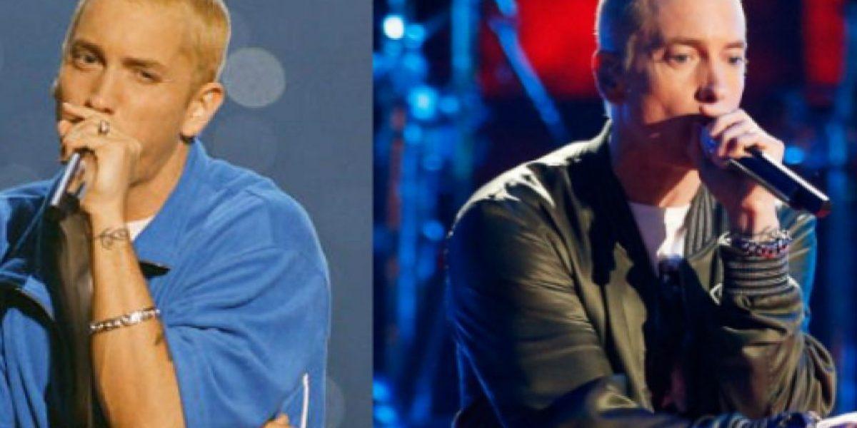 FOTOS: El antes y el después de Eminem