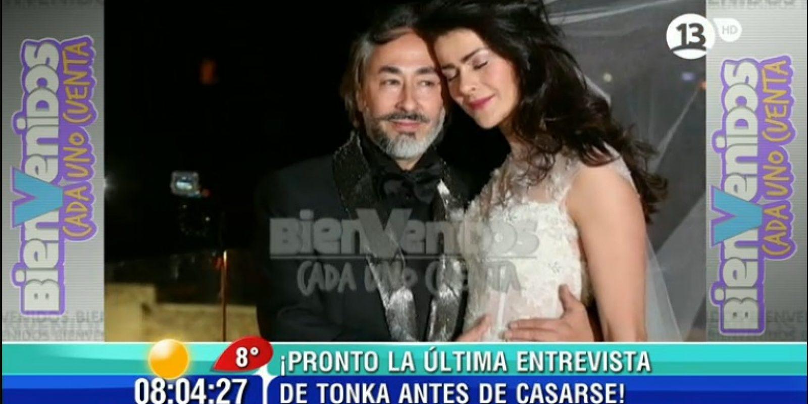 Tonka Tomicic Matrimonio