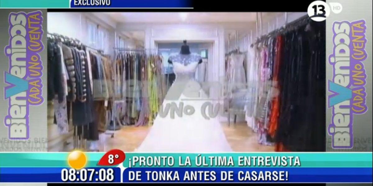 Rubén Campos reveló los secretos del espectacular vestido de novia de Tonka