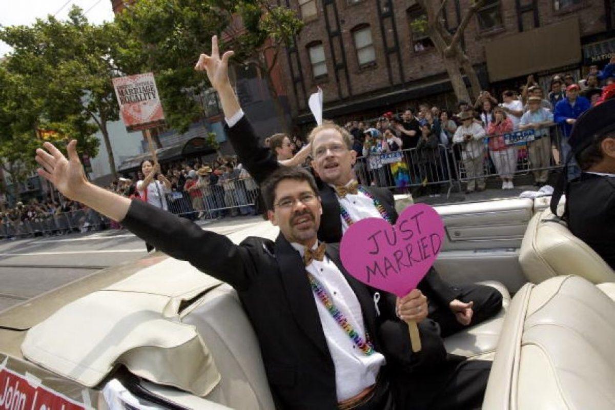5) Ya hay más de 14 países en todo el mundo en donde el matrimonio homosexual es legal Foto:Getty Images. Imagen Por: