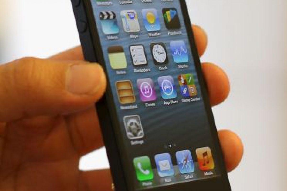 iPhone 5 (2012) Foto:getty images. Imagen Por: