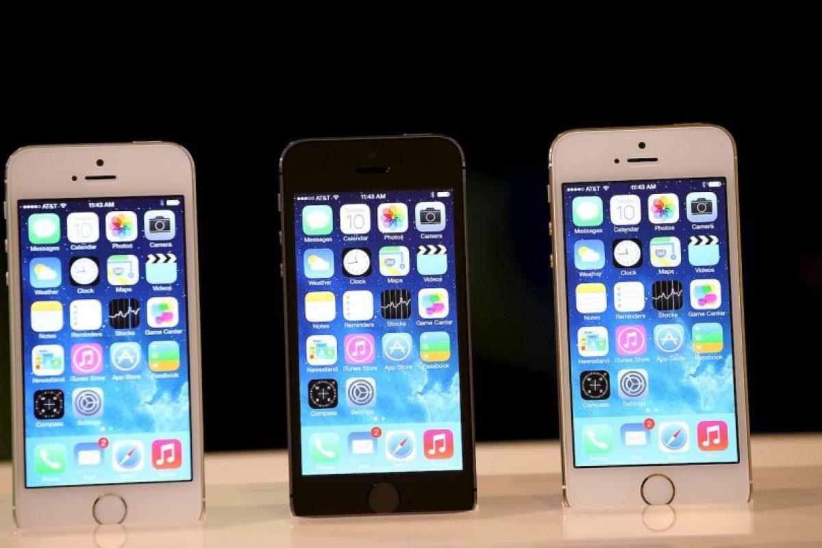 iPhone 5S (2013) Foto:getty images. Imagen Por: