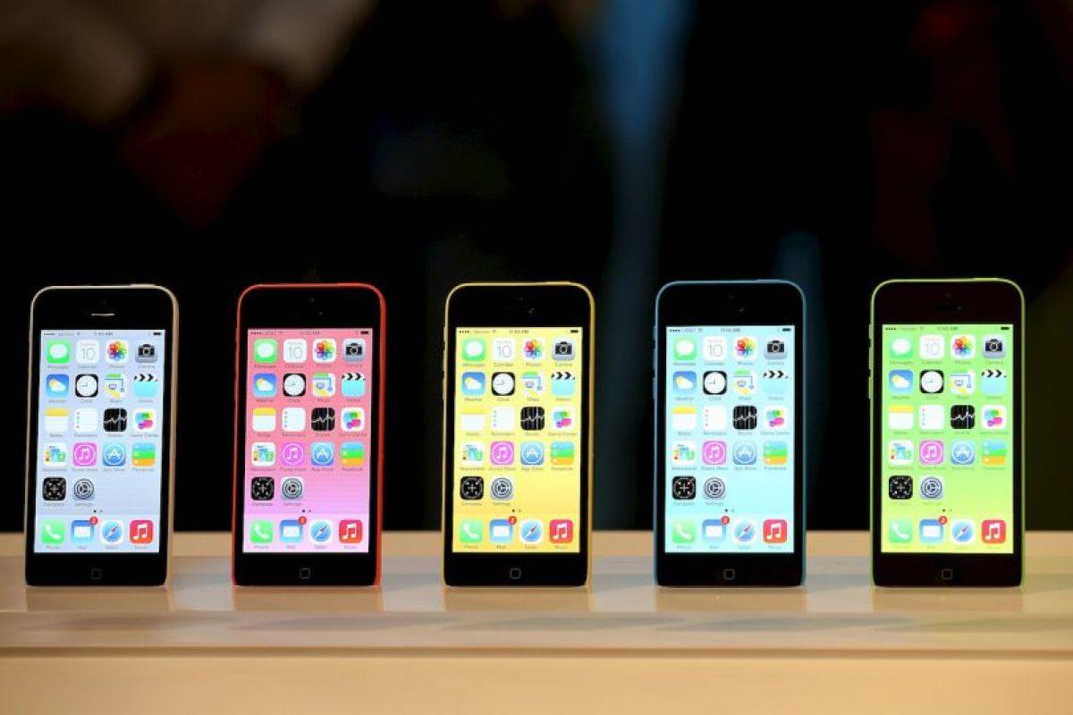 iPhone 5C (2013) Foto:getty images. Imagen Por:
