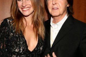 Con Paul McCartney Foto:Getty. Imagen Por: