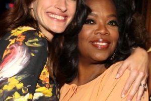 Con Oprah Winfrey Foto:Getty. Imagen Por: