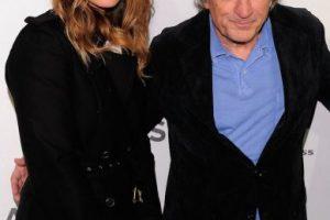 Con Robert De Niro Foto:Getty. Imagen Por: