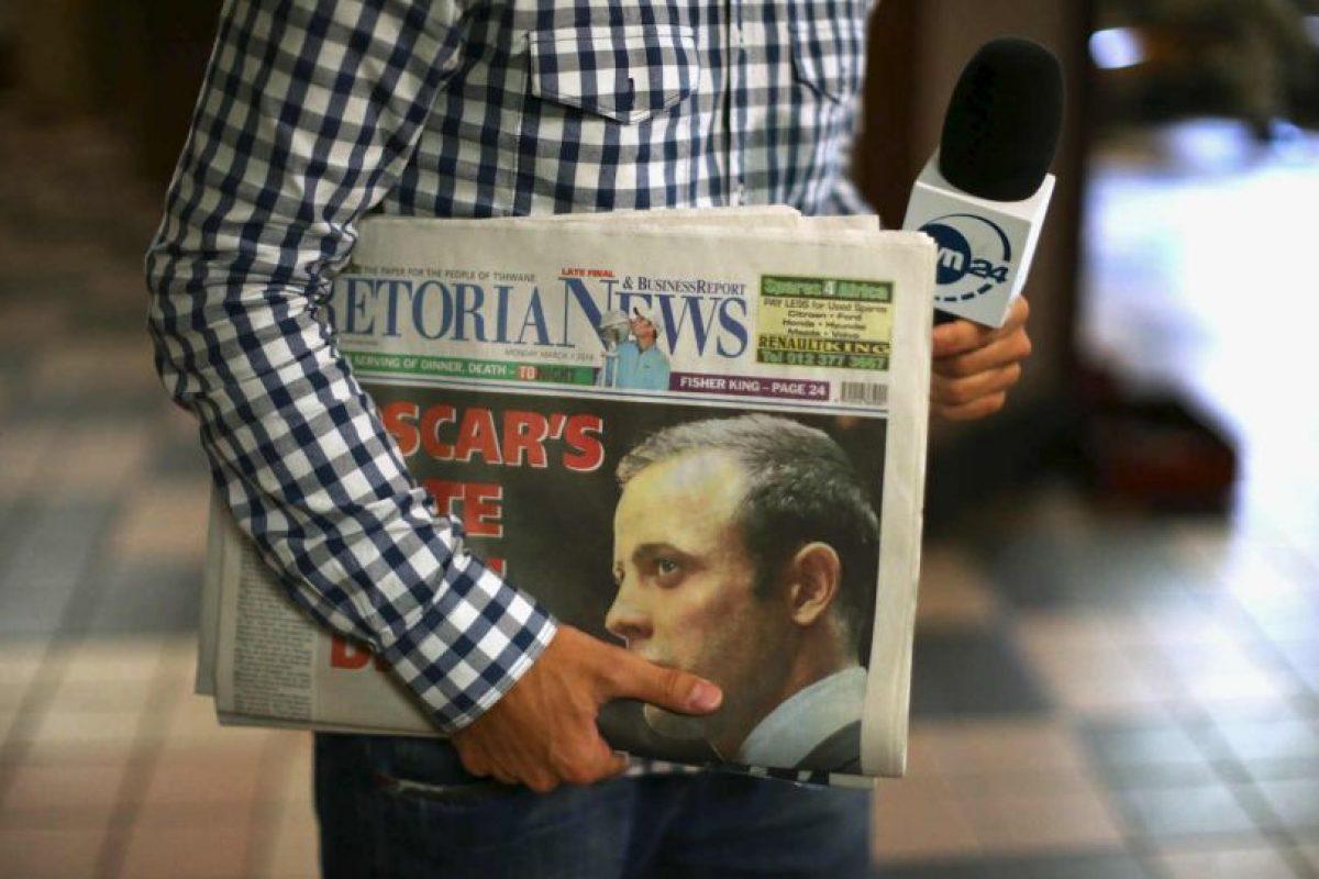 En los medios sudafricanos, Oscar Pistorius es un personaje polémico Foto:AFP. Imagen Por: