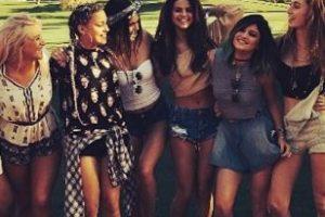 Selena con las hermanas Jenner Foto:Instagram / Kylie Jenner. Imagen Por: