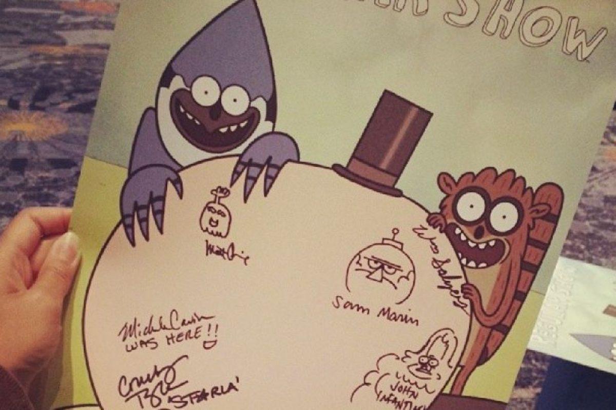Para los niños y no tan niños este autógrafo sería invaluable. Foto:Instagram. Imagen Por: