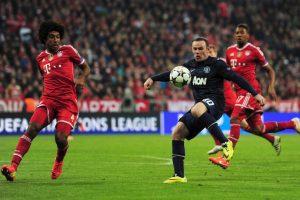 En cuartos de final el escollo a vencer era el Manchester United. En Old Trafford las cosas terminaron 1-1 (1 de abril). Ocho días después, en Munich, los bávaros dieron el golpe de gracia y derrotaron por 3-1 a los Diablos Rojos (foto). Foto:Getty Images. Imagen Por: