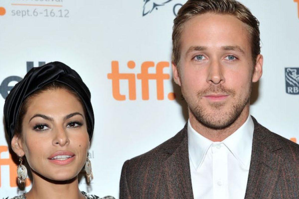 Ryan Gosling y Eva Mendes Foto:Getty. Imagen Por: