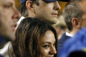 Mila Kunis y Ashton Kutcher Foto:Getty. Imagen Por: