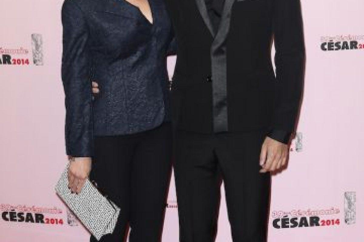 Scarlett Johansson y Romain Dauriac Foto:Getty. Imagen Por: