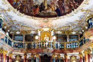Biblioteca Monasterio Wiblingen – Alemania Foto:Loquenosabías.com. Imagen Por: