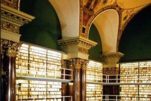 Biblioteca Agosto de Herzog , Wolfenbüttel – Alemania Foto:Loquenosabías.com. Imagen Por: