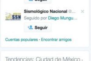 Columna izquierda con tendencias y sugerencias. Foto:Twitter. Imagen Por: