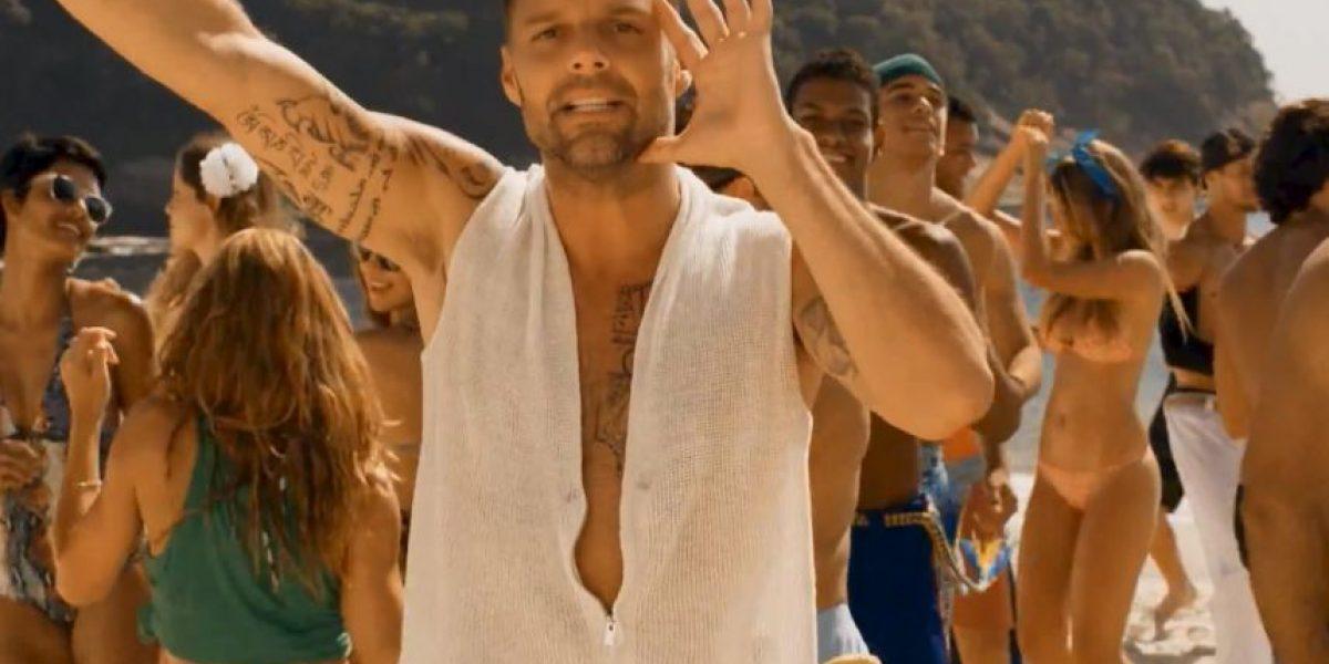 Ricky Martin lanza su