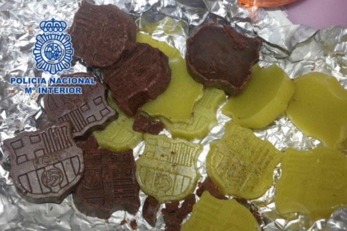 Estos son los chocolates hechos de marihuana y setas alucinógenas Foto:interior.gob.es. Imagen Por:
