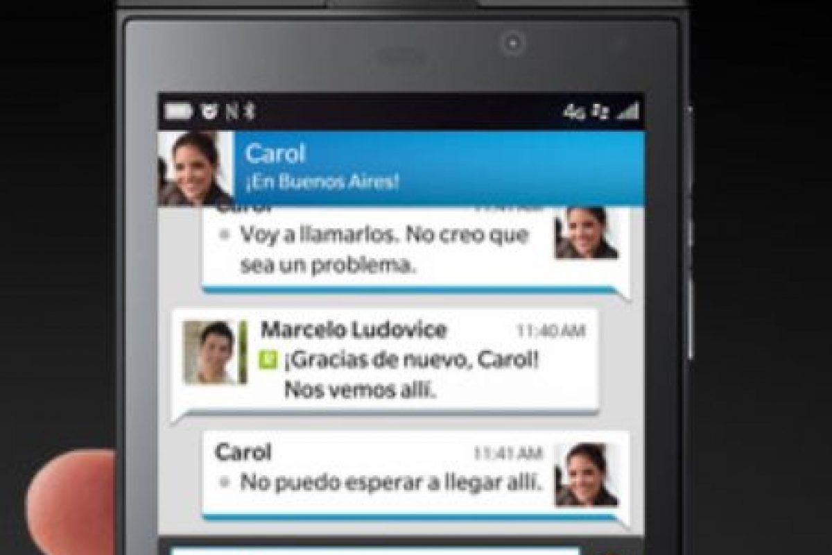 6- BlackBerry Messenger Foto:BlackBerry. Imagen Por: