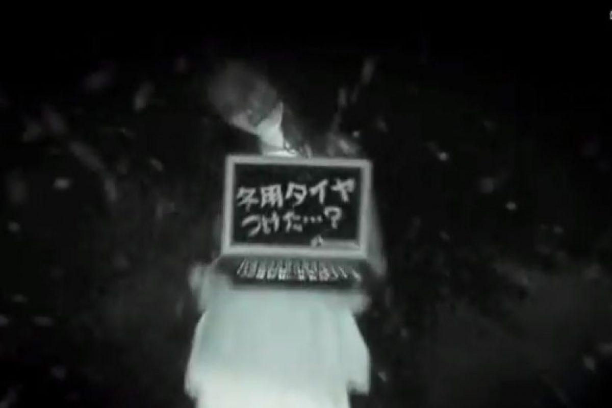 El anuncio de la marca japonesa, Autoway, se apoya en el terror Foto:Captura. Imagen Por: