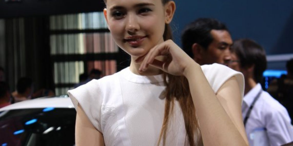 Las modelos más guapas que dejó el Salón de Beijing 2014