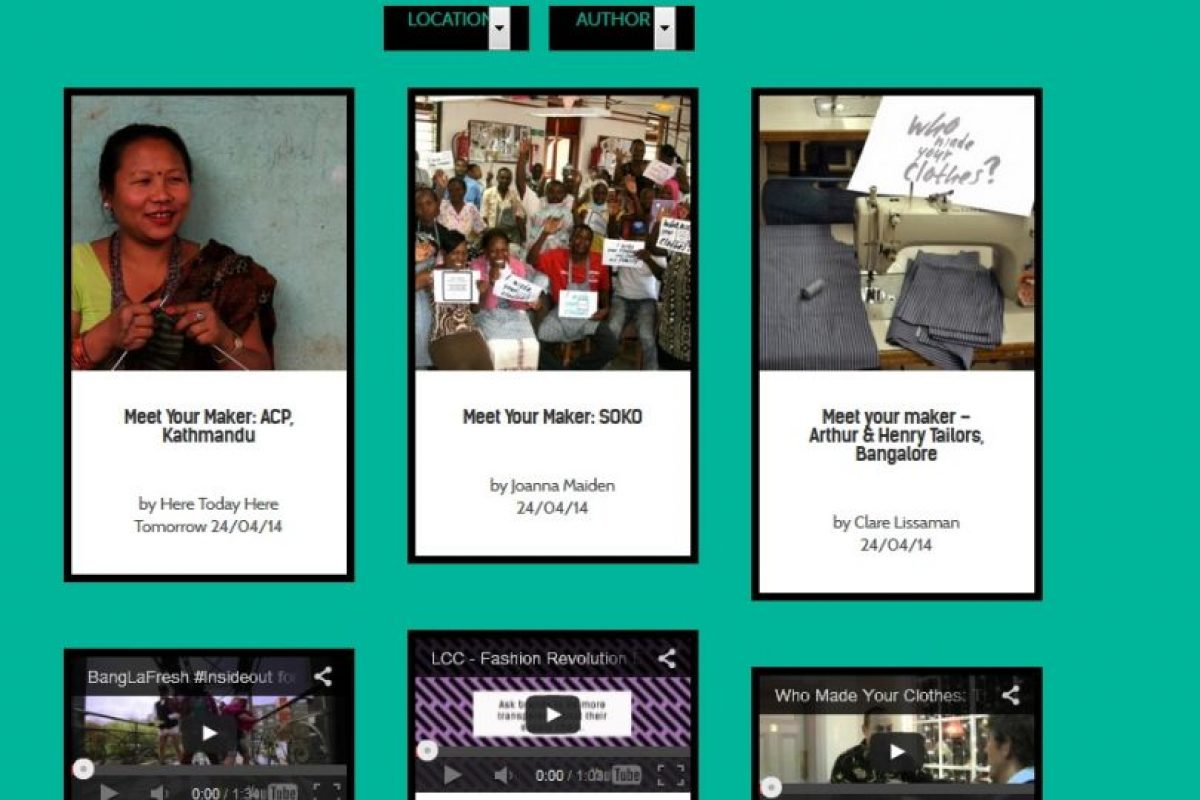 Aquí se muestra el origen de varias maquilas. Foto: Captura de pantalla. Imagen Por: