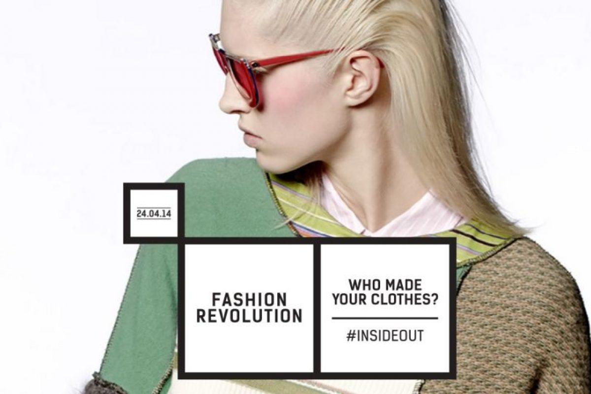 Fashion Revolution quiere concientizar a los consumidores a ver cómo hacen su ropa. Foto: Captura de Pantalla. Imagen Por: